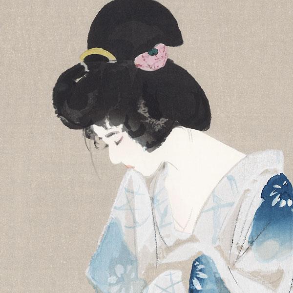 After Bathing (Yokugo) by Ito Shinsui (1898 - 1972)