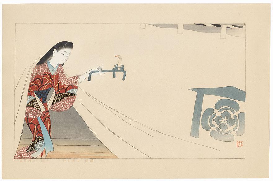 The Heroine Tora Gozen  by Ishikawa Toraji (1875 - 1964)