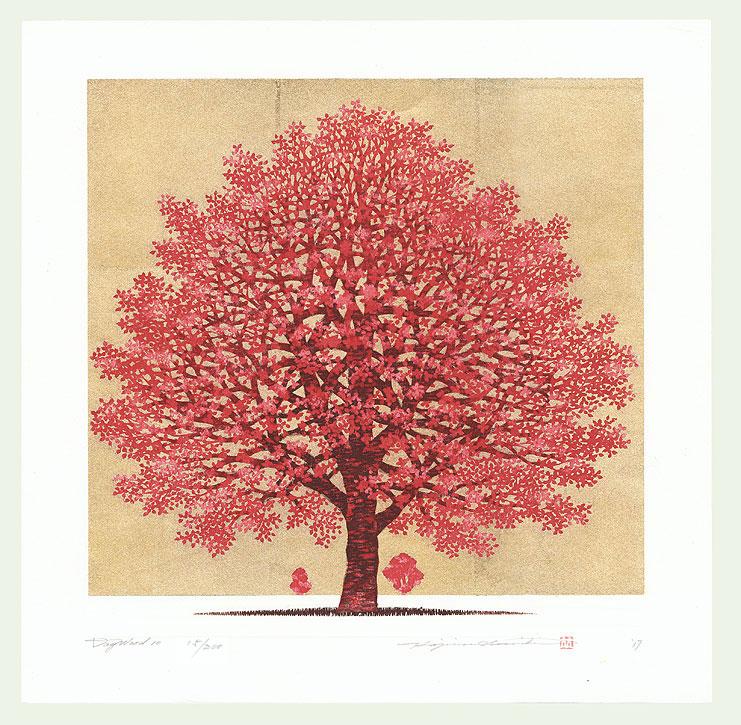Dogwood 10, 2017 by Hajime Namiki (born 1947)
