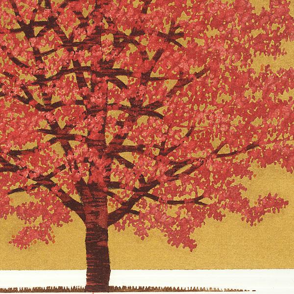 Treescene 131, 2008 by Hajime Namiki (born 1947)