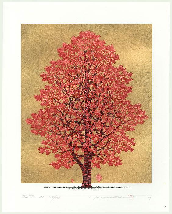 Treescene 138, 2009 by Hajime Namiki (born 1947)