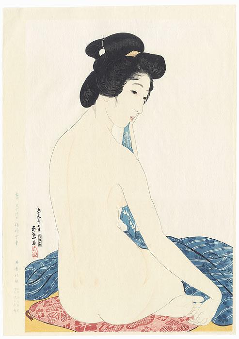 Beauty after Bath, 1920 - Limited Edition Commemorative Print by Hashiguchi Goyo (1880 - 1921)