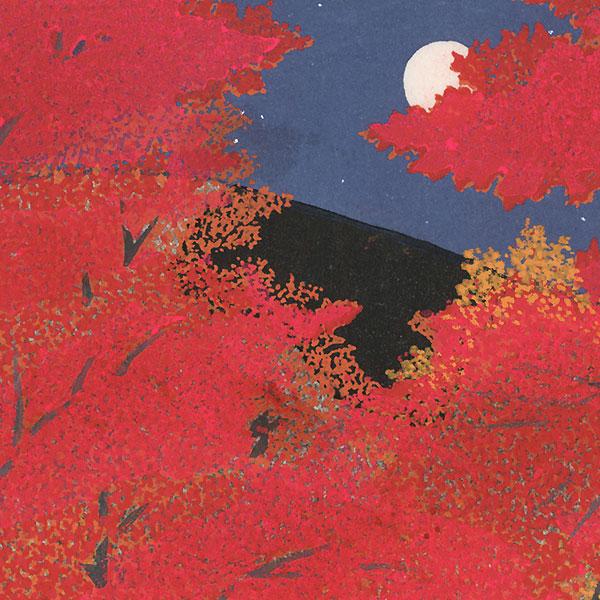 Nanzenji Autumn Leaves by Teruhide Kato (1936 - 2015)