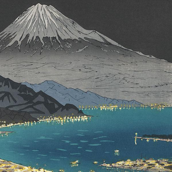 Mt. Fuji from Nihondaira by Okada Koichi (1907 - ?)