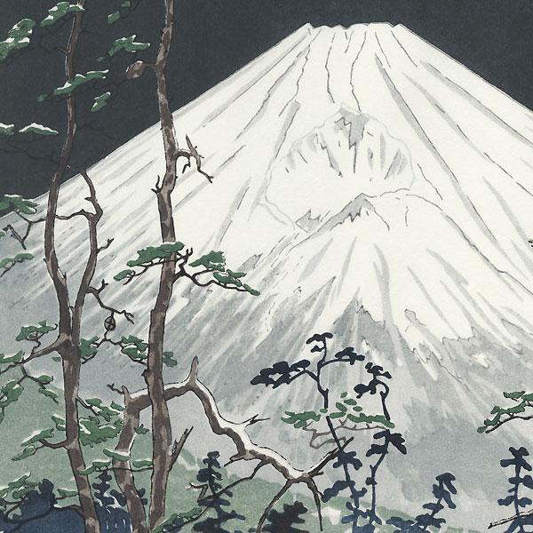 Mt. Fuji from Hakone by Okada Koichi (1907 - ?)