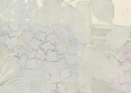 Hydrangeas by Kamisaka Sekka (1866 - 1942)