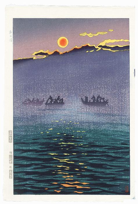 Morning Waves, 1956 by Shiro Kasamatsu (1898 - 1991)