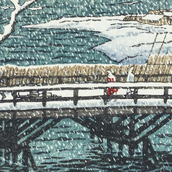 Echigo Kashiwazaki, Niigata, 1955 by Shiro Kasamatsu (1898 - 1991)