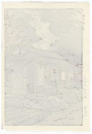 House at Okutama, 1955 by Shiro Kasamatsu (1898 - 1991)
