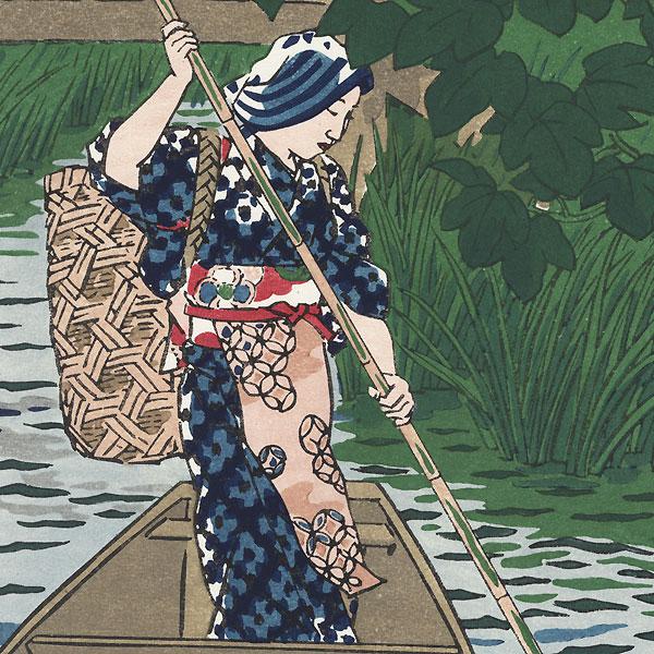 Itako, the Lakeside Village, 1954 by Shiro Kasamatsu (1898 - 1991)