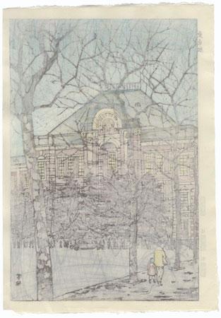 Tokyo Station, 1956 by Shiro Kasamatsu (1898 - 1991)