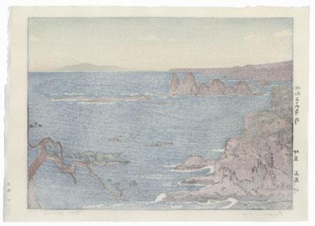 Irozaki, Day, 1961 by Toshi Yoshida (1911 - 1995)