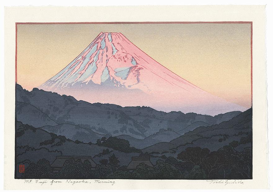 Fuji from Nagaoka, Morning, 1962 by Toshi Yoshida (1911 - 1995)
