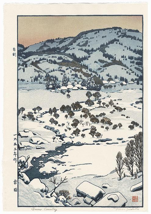Snow Country, 1955 by Toshi Yoshida (1911 - 1995)