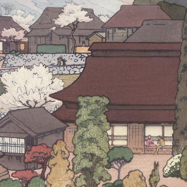 Village of Plums, 1951 by Toshi Yoshida (1911 - 1995)