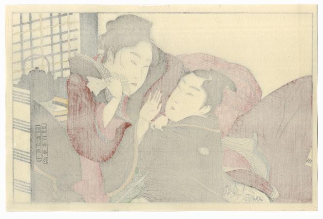 Series; Poem of the Pillow by Utamaro (1750 - 1806)