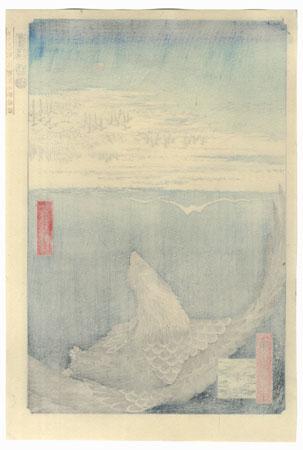 Fukagawa Susaki and Jumantsubo by Hiroshige (1797 - 1858)