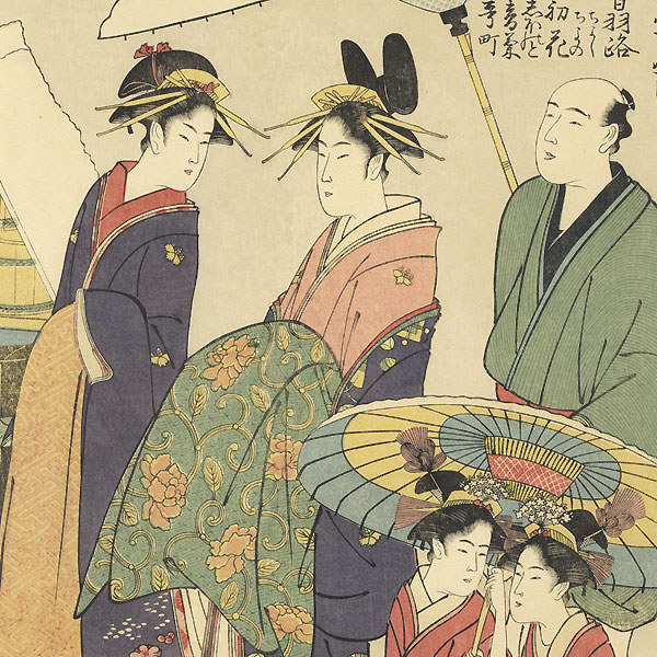 Fine Old Reprint Clearance! A Fuji Arts Value by Choki (active circa 1785 - 1805)