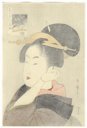Tatsumi Roko  by Utamaro (1750 - 1806)