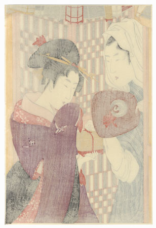 The Insect Vendor by Utamaro (1750 - 1806)