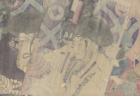 47 Ronin, Act 1 by Kunichika (1835 - 1900)