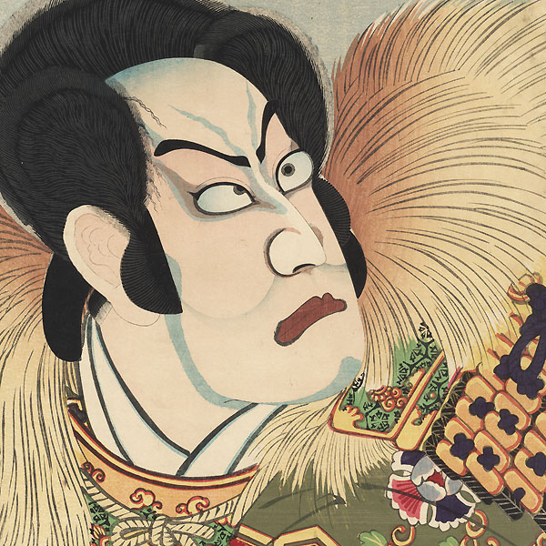 Account of Toyotomi Hideyoshi (Taiko), No. 10, 1871 by Kunichika (1835 - 1900)