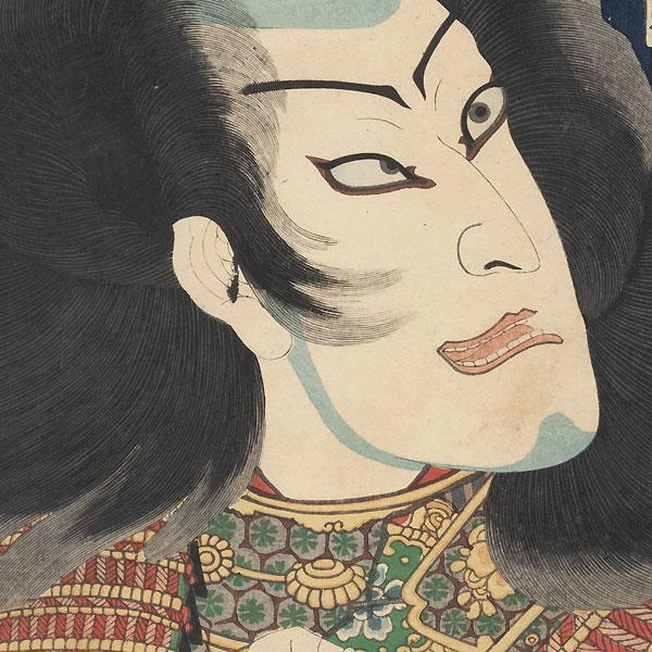 Nakamura Shikan IV, 1861 by Kuniaki II (1835 - 1888)
