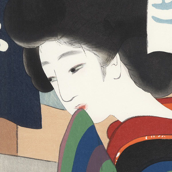 November: Balmy Autumn Weather by Shoen Ikeda (1888 - 1917)