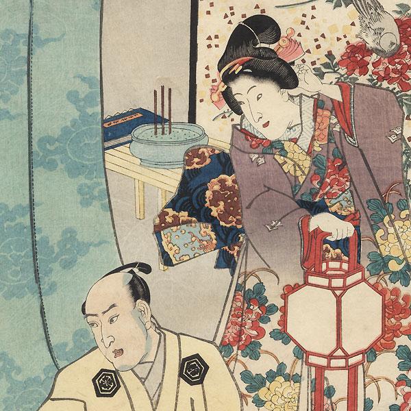The Sixth Month, 1847 - 1852 by Toyokuni III/Kunisada (1786 - 1864)