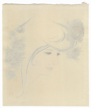 Thoughts, 1981 by Iwata Sentaro (1901 - 1974)