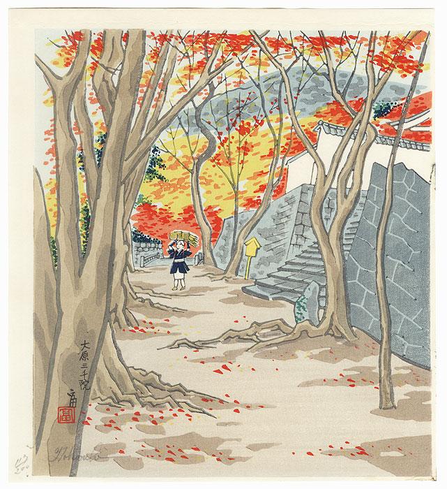 Sanzen-in, Ohara by Tokuriki (1902 - 1999)