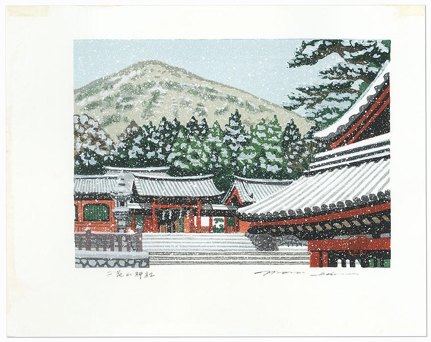 Futarasan Shrine by Masao Ido (1945 - 2016)