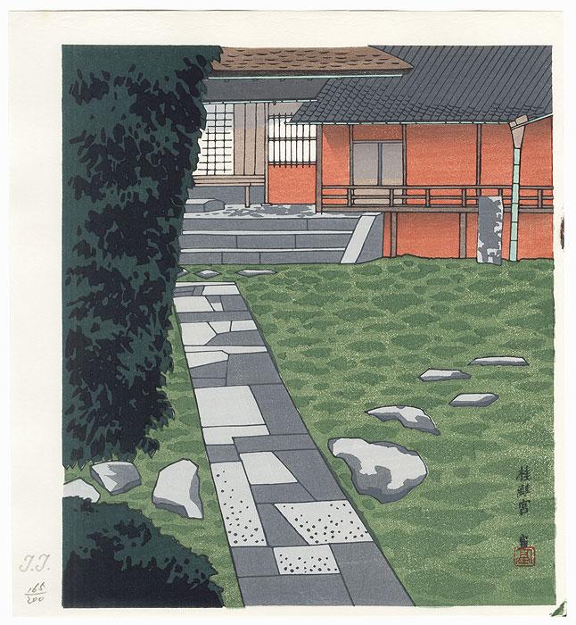 Garden of Katsura Rikyu by Tokuriki (1902 - 1999)