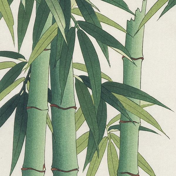 Bamboo by Kawarazaki Shodo (1889 - 1973)