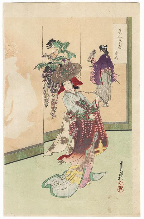 Wisteria by Gekko (1859 - 1920)