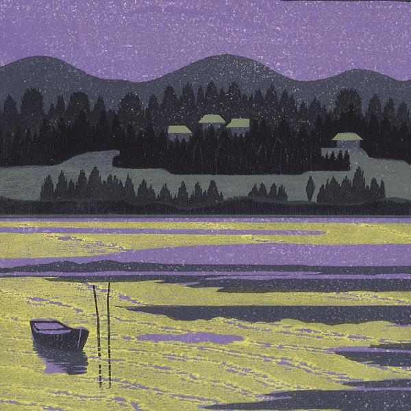Wintry Moon, 1988 by Tadashige Nishida (born 1942)