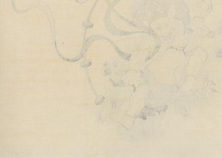 Thunder God Raijin by Tawaraya Sotatsu (1570 - 1643)
