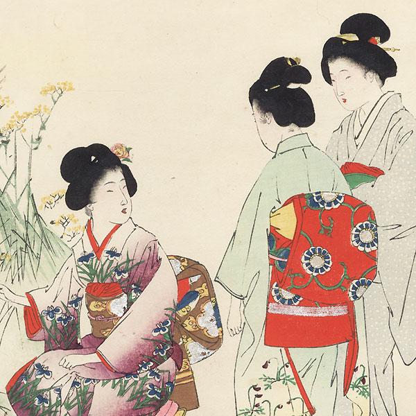 Autumn Flowers by Shuntei Miyagawa (1873 - 1914)
