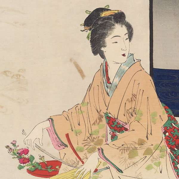 Folded Decorations (Orimono) by Gekko (1859 - 1920)