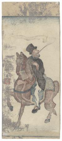 American, 1860 by Yoshimori (1830 - 1884)