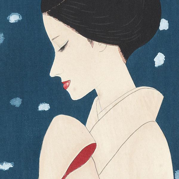 Large Snowflakes, circa 1970s by Keiichi Takasawa (1914 - 1984)