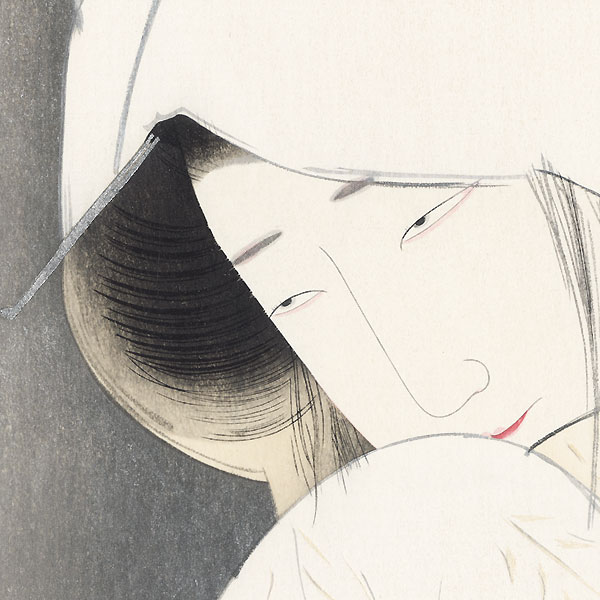 The Heron Maiden, 1925 by Tsunetomi Kitano (1880 - 1947)
