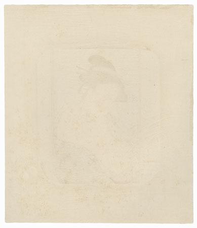 Pillow Print by Shunzan (active circa 1782 - 1798)