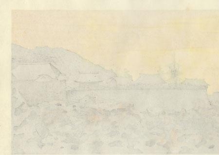 Shimizu Temple, 1983 by Masao Ido (1945 - 2016)