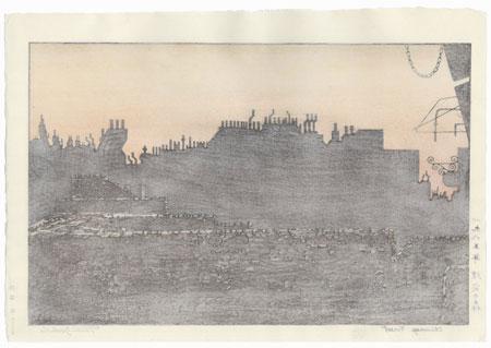 Chimney Forest, 1985 by Toshi Yoshida (1911 - 1995)