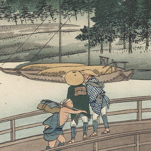 Yoshida by Fujikawa Tamenobu (active circa 1890s)