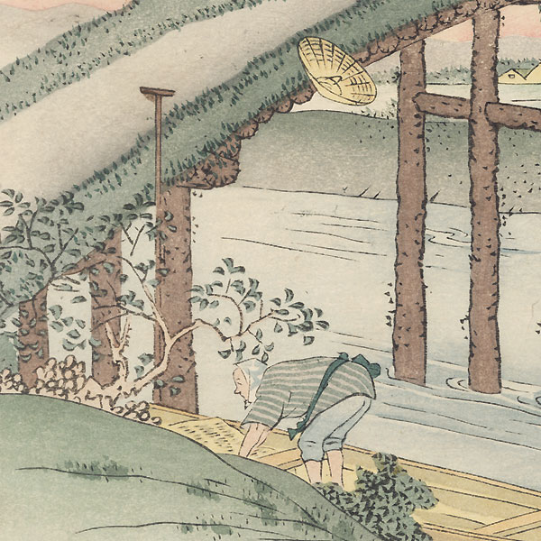 Ejiri by Fujikawa Tamenobu (active circa 1890s)