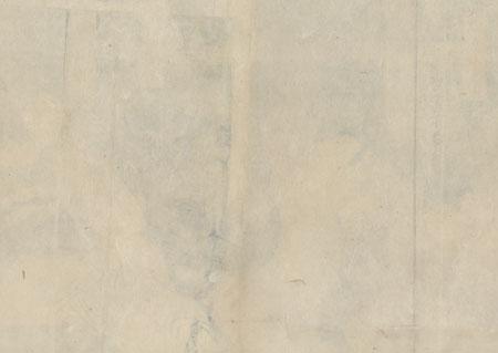 Scene from Edo-zakura Kiyomizu Seigen, 1858 by Toyokuni III/Kunisada (1786 - 1864)