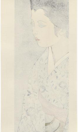 August: Morning Glories by Junichiro Sekino (1914 - 1988)