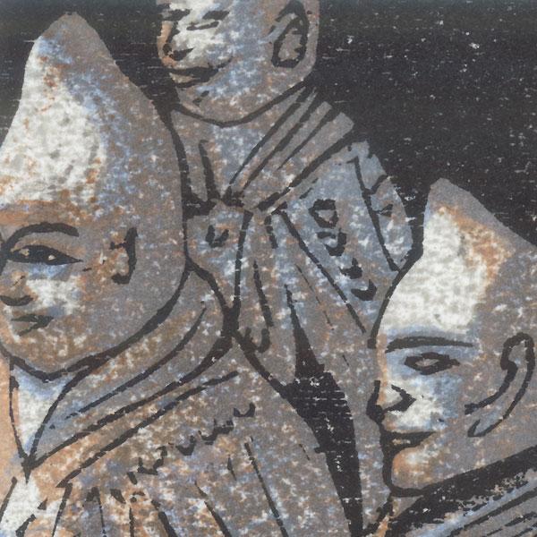 Terracotta Warriors, China, The Mausoleum of the First Emperor Bookplate, 2016 by Motoi Yanagida (born 1940)